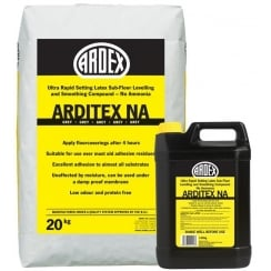 Ardex Arditex NA Bag and Bottle