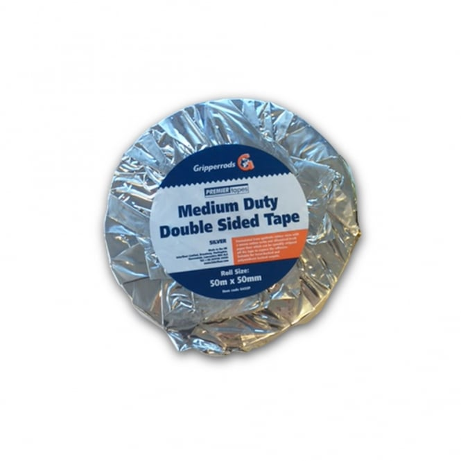 Double Sided Tape Silver
