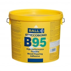 F Ball Styccobond B95 Flexible Wood Flooring Adhesive
