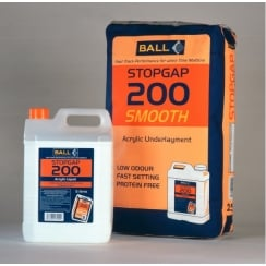 Stopgap 200 Smoothing Compound Bag & Bottle