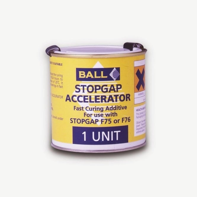 Stopgap Accelerator Fast Curing for F76