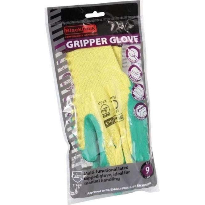 Gripper Gloves Latex Dipped
