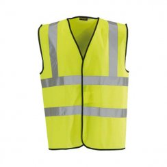 Yellow Sleeveless Hi-Vis Vest