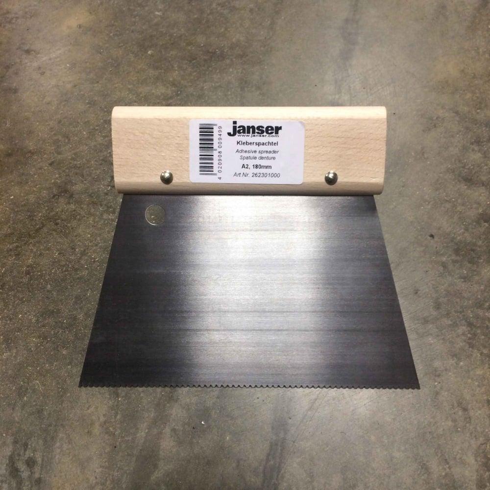 Janser 18cm A2 Fan Trowel Adhesive Spreader - Tools & Installation ...