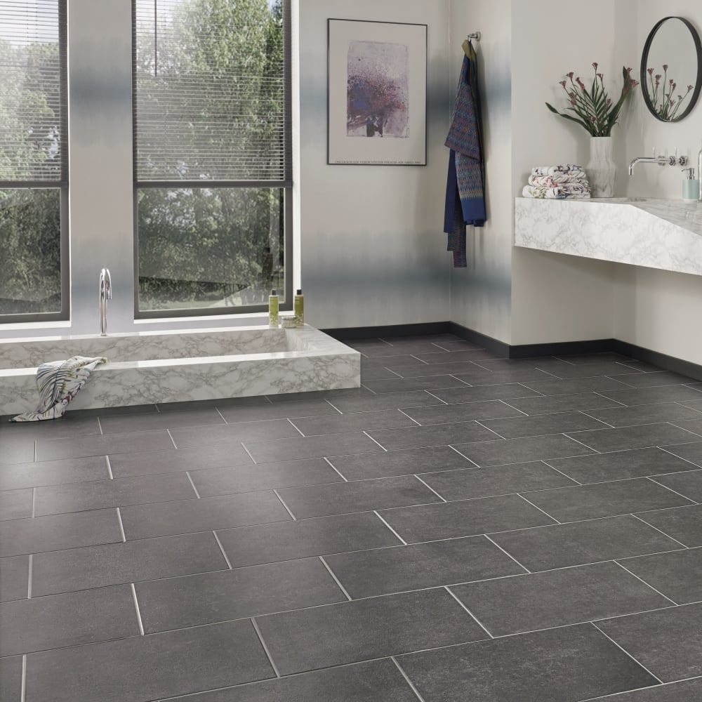 Karndean da vinci sindon cer21 luxury vinyl tiles from for Luxury vinyl bathroom flooring