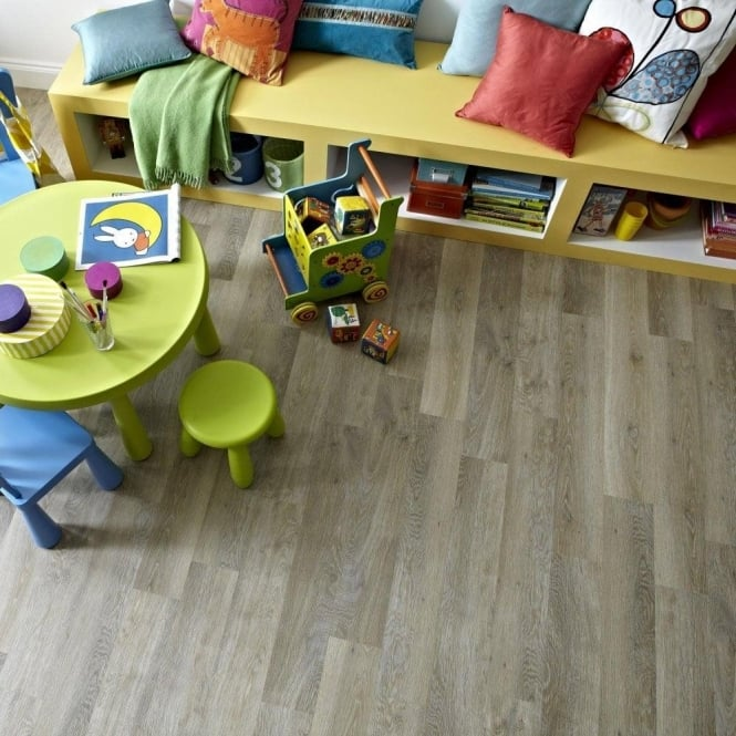 Karndean Knight Tile Lime Washed Oak KP99