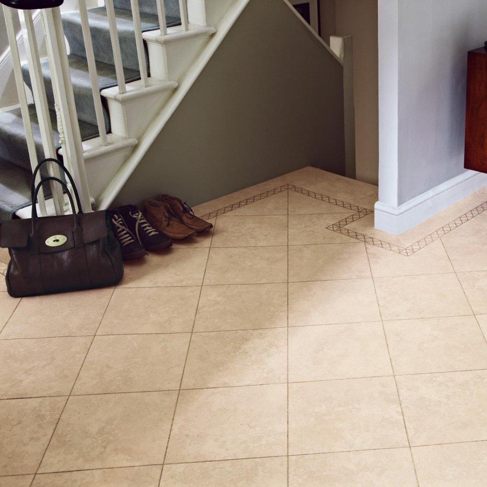Luxury Vinyl Flooring In Linton Stone From The Knight Tile Range St9