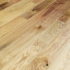 Lumberjack Oak 125 x 18mm x Random Rustic Brushed UV Oiled