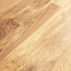 Lumberjack Oak 150 x 18mm x Random Rustic Brushed Matt Lacquered