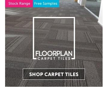 Floorplan Carpet Tiles in stock