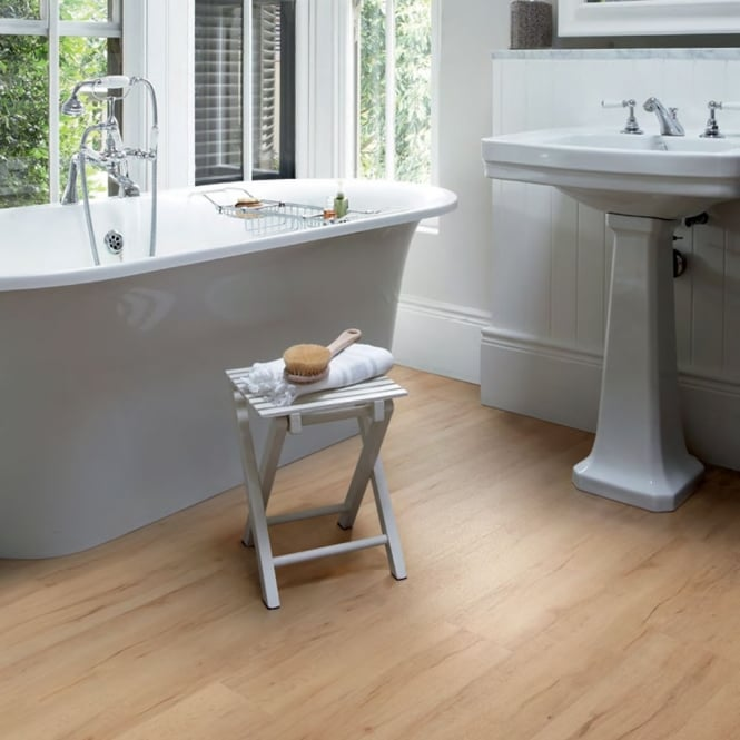 Polyflor Camaro Loc Click Fit Vinyl Tiles Summer Maple 3429