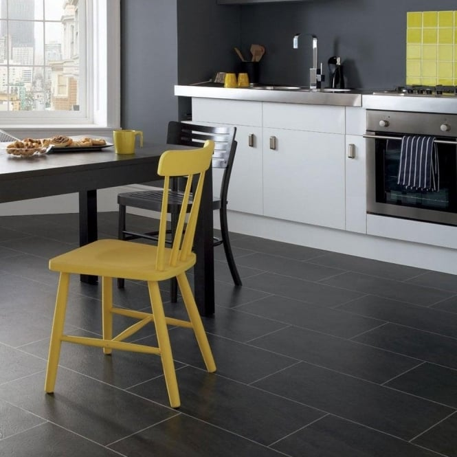 Polyflor Colonia Welsh Raven Slate 4535