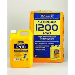 Stopgap 1200 Pro Bag & Bottle