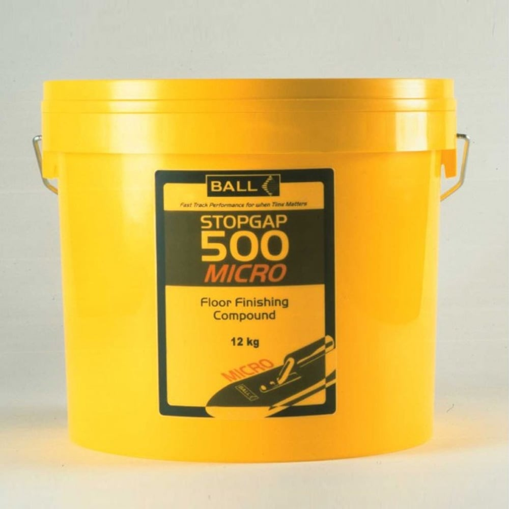 Subfloor Prep' - Feather Finish Microcoat Stopgap 500 - 12kg
