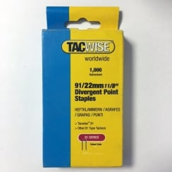 Tacwise Staples 91 for Duo 35 22mm (91/22)