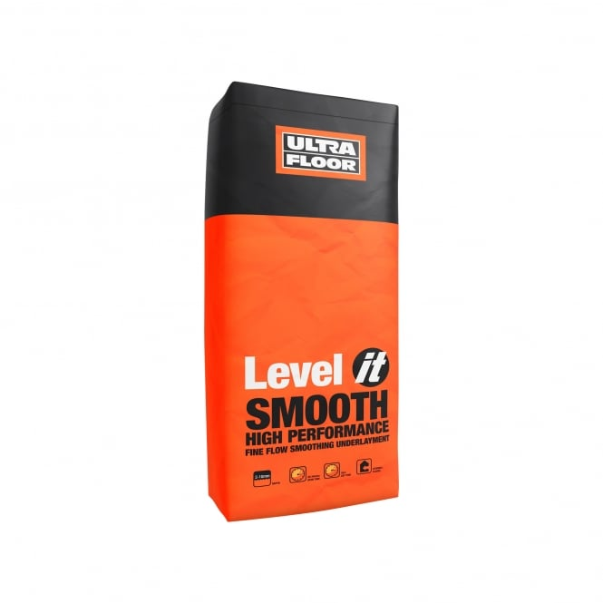 Ultrafloor Level it - Smoothflow 20kg (Orange) Bag