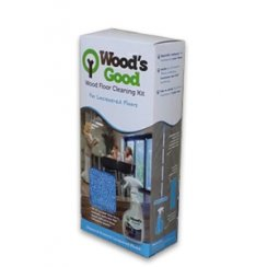 Wood's Good Laquer Floor Cleaning Kit