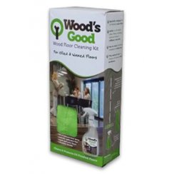Wood's Good Oil & Wax Floor Cleaning Kit